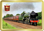 Flying Scotsman tin image