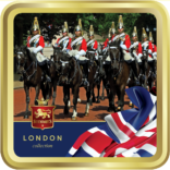 Household Cavalry tin image
