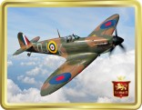 WWII Battle of Britain veteran Spitfire tin image