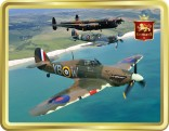 Battle of Britain Trio tin image