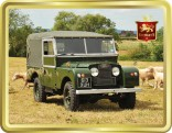 Classic Land Rover tin image