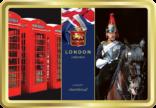 Calling London Cavalry tin image
