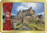 Edinburgh Castle tin image