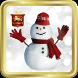 Snowman tin image
