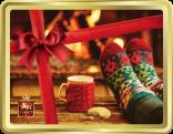 Fireside Treats tin image
