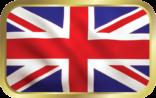 Union Jack Flag tin image