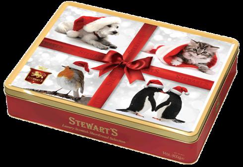 Stewart S Christmas 400g Shortbread