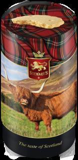 Highland Cow tin image