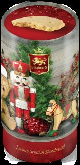Antique Christmas tin image