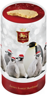 Santa Penguins tin image
